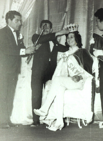 The crowning of Miss Skyline as the 1968 Miss Industry International