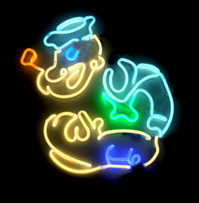 Popeye as simplified to be converted into Neon