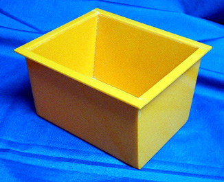 Any type and size of container is can be manufactured