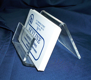 Put your Business-card Holder on your reception or desk.